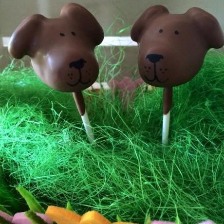 Labrador Cake Pops