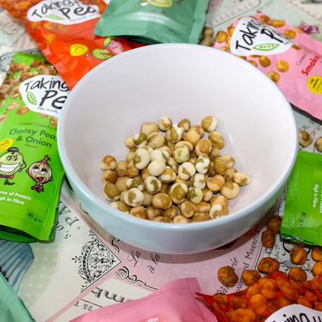 Crunchy Pea Snacks Mixed Selection - 12 pack