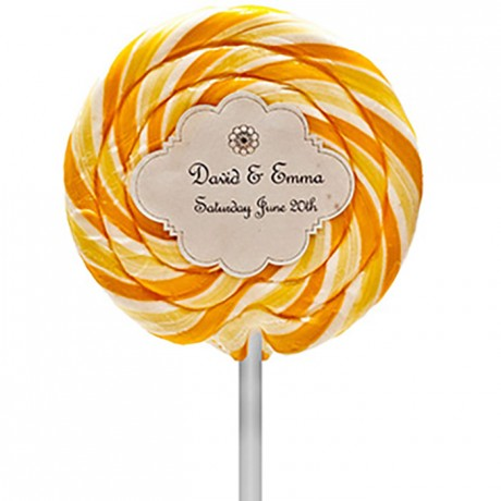 Personalised Handmade Lollipops