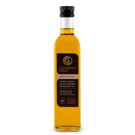 Cotswold Gold Garlic Infused Rapeseed Oil 500ml