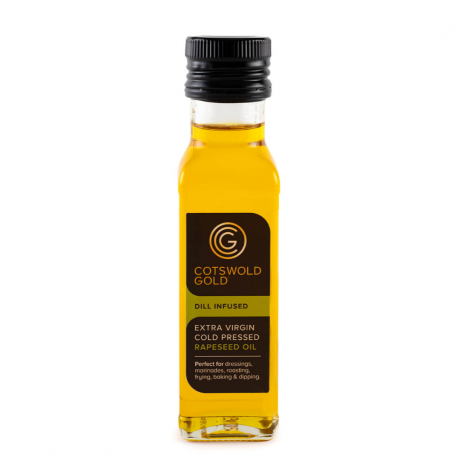 Cotswold Gold Dill Infused Rapeseed Oil 100ml