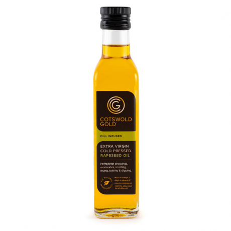 Cotswold Gold Dill Infused Rapeseed Oil 250ml