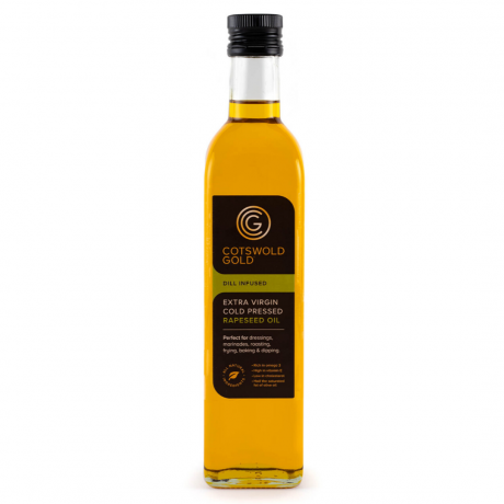 Cotswold Gold Dill Infused Rapeseed Oil 500ml