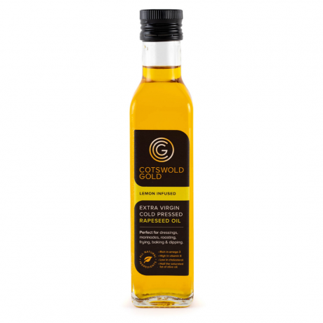 Cotswold Gold Lemon Infused Rapeseed Oil 250ml