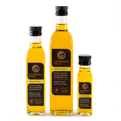 Cotswold Gold Lemon Infused Rapeseed Oil