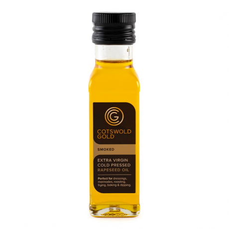 Cotswold Gold Smoked Rapeseed Oil 100ml