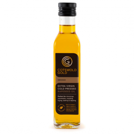 Cotswold Gold Smoked Rapeseed Oil 250ml