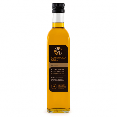 Cotswold Gold Smoked Rapeseed Oil 500ml