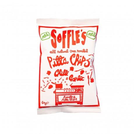 Mild Chilli and Garlic Pitta Chips