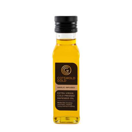 Cotswold Gold Garlic Infused Rapeseed Oil 100ml