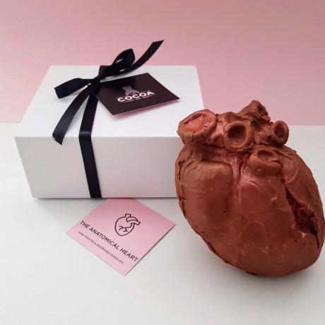 Chocolate Anatomical Heart