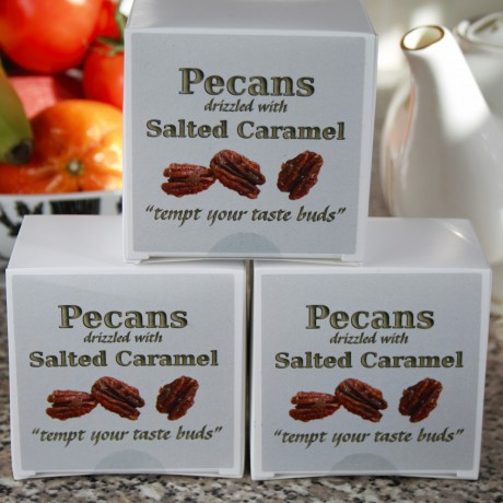 Pecans with Salted Caramel (Pack of 3)