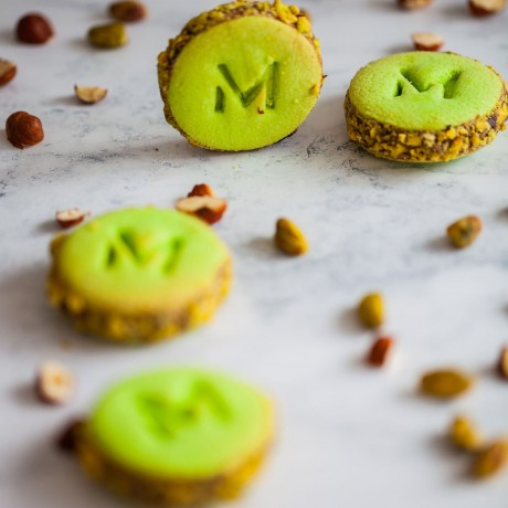 Indulgently Nutty Alfajores