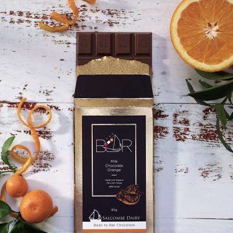Milk Chocolate with Orange