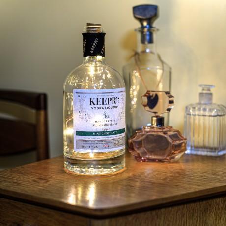 Personalised Mint Chocolate Vodka Liqueur