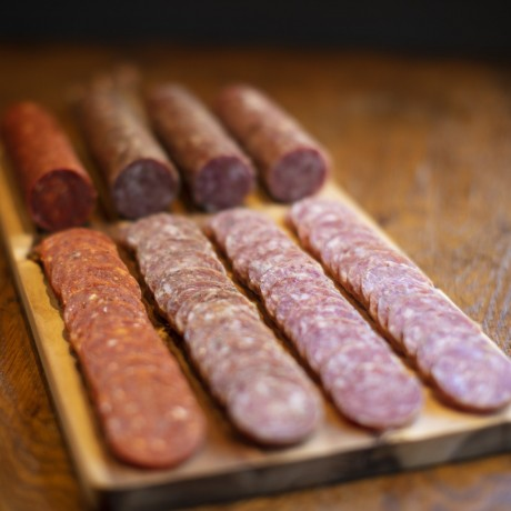 The Whole Schbang British Salami Selection