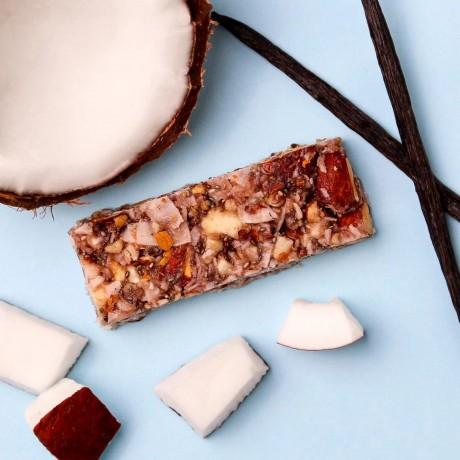 Low Sugar Crunchy Vanilla Bars