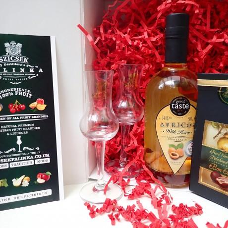 Valentine's Day Honey Palinka Gift Box