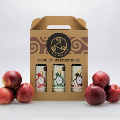 3 Cider Gift Packs (3 x 3 x 500ml)