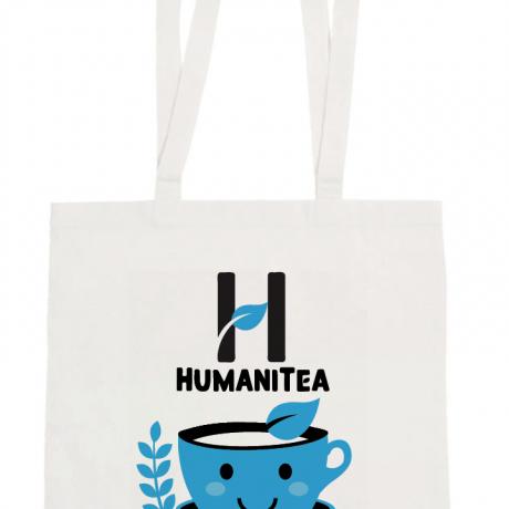 HumaniTea Tote Bag – Blue