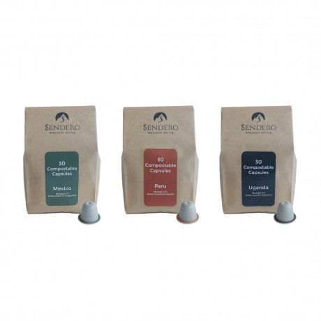Mixed case coffee capsules