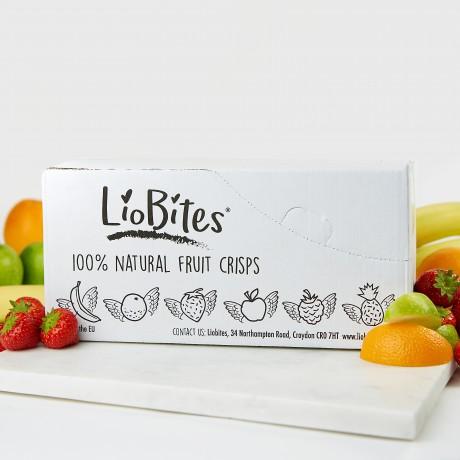 LioBites Freeze-Dried Crispy Orange Bits (15 Packs)