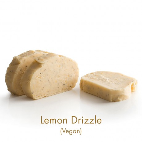 Lemon Drizzle Vegan Fudge
