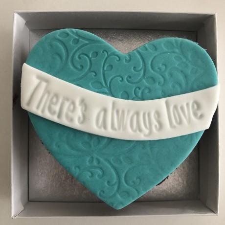 Heart Letterbox Cake