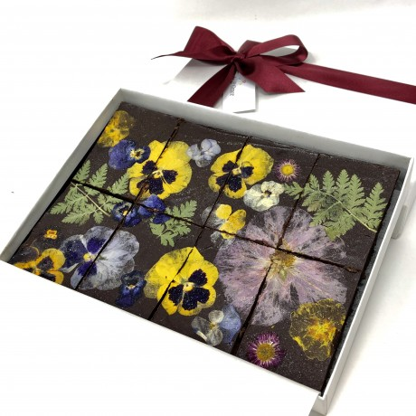 Floral Brownies