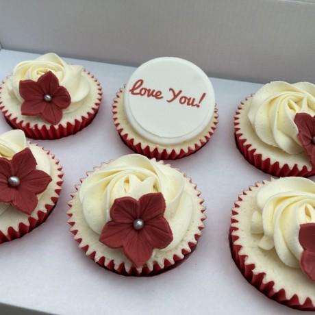 Valentines Gift Cupcakes | Send Love