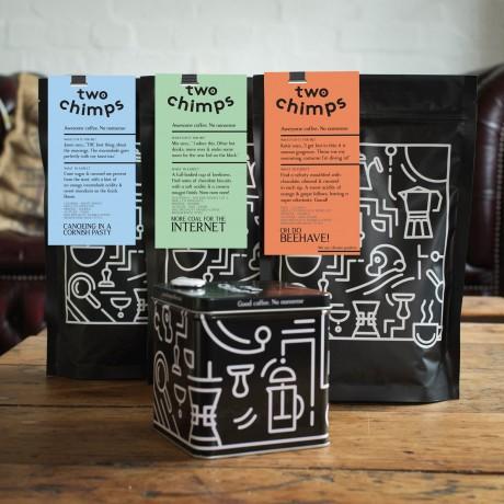 Darker Roasted Coffee Trio Set