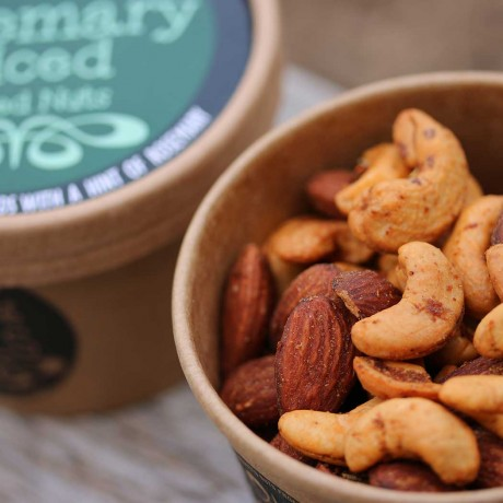 Spicy Hand-Roasted Nut Selection (6 Tubs)