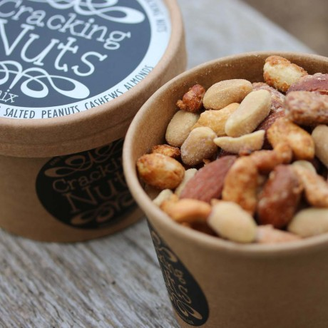 Classic Hand-Roasted Nut Selection (6 Tubs)