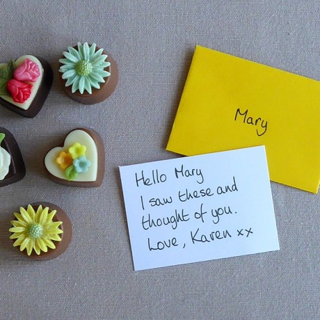 Add a handwritten gift card to your gift