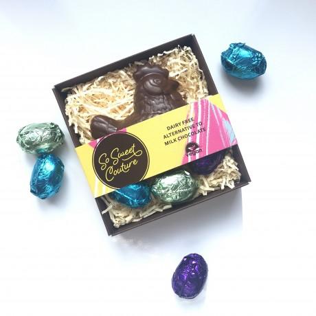 Dairy Free Easter Hen in Basket & Mini Eggs