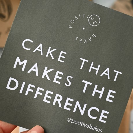 Cake that makes the difference packaging