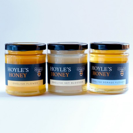 The Raw English Honey Collection