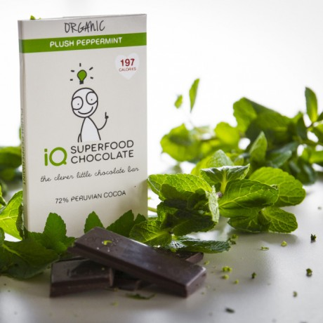 Gift Pack of iQ Organic Superfood Chocolate (6 bars)