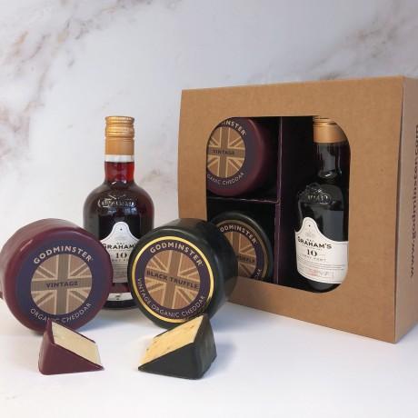 Godminster - Black Truffle After Dinner Port Gift Set