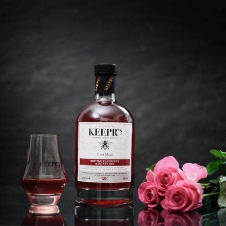 Keepr's raspberry and honey gin