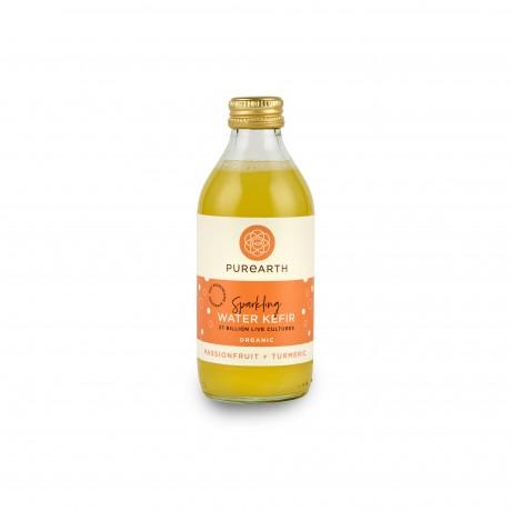 Passionfruit + Turmeric Water Kefir