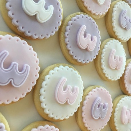 Number Handmade Gift Biscuits by Post