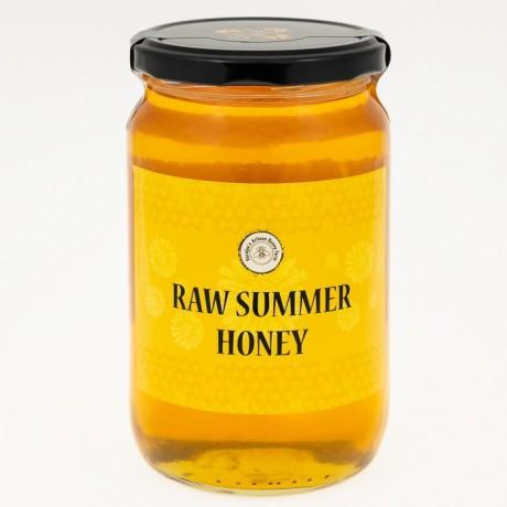 Raw Hungarian Summer Flower Honey