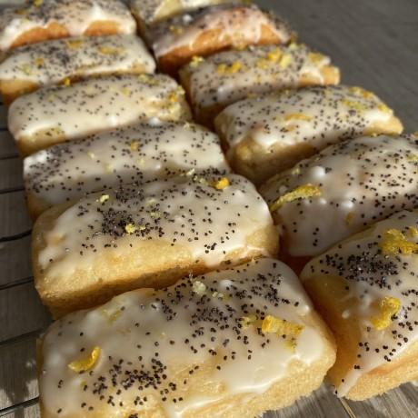 Lemon & Poppyseed Mini Loaves (Vegan) - Pack of 6