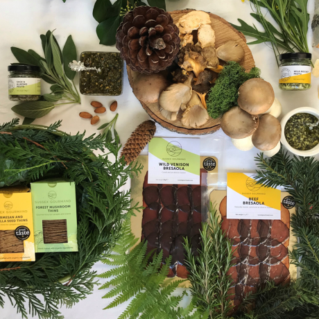 Forest and Sea hamper