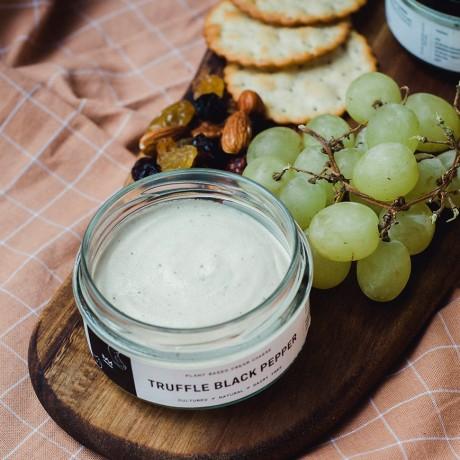 Truffle Black Pepper Organic Vegan Cream Cheese