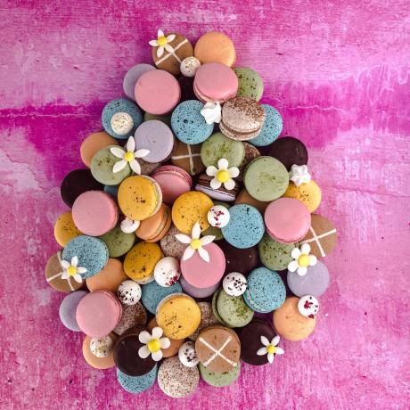 Easter Macaron Selection Box of 6