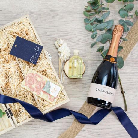 The Gusbourne English Rosé Box