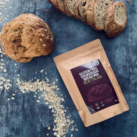 2 New Italian - Gluten Free Artisan Sourdough Bread Mixes