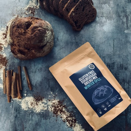 Winter Spice Limited Edition - Gluten Free Artisan Sourdough Bread Mixes, 2 x 500g